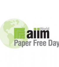 AIIM's Paper Free Day – October 25, 2012