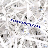 How not to dispose of confidential documents