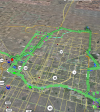 Managing GPS Data as a Record